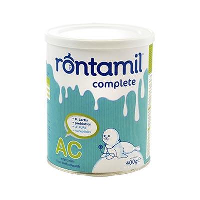 Rontamil AC Γάλα σε σκόνη για την αντιμετώπιση των κολικών, από τη γέννηση, 400gr