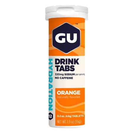GU Hydration Drink 12 Ταμπλέτες Πορτοκάλι