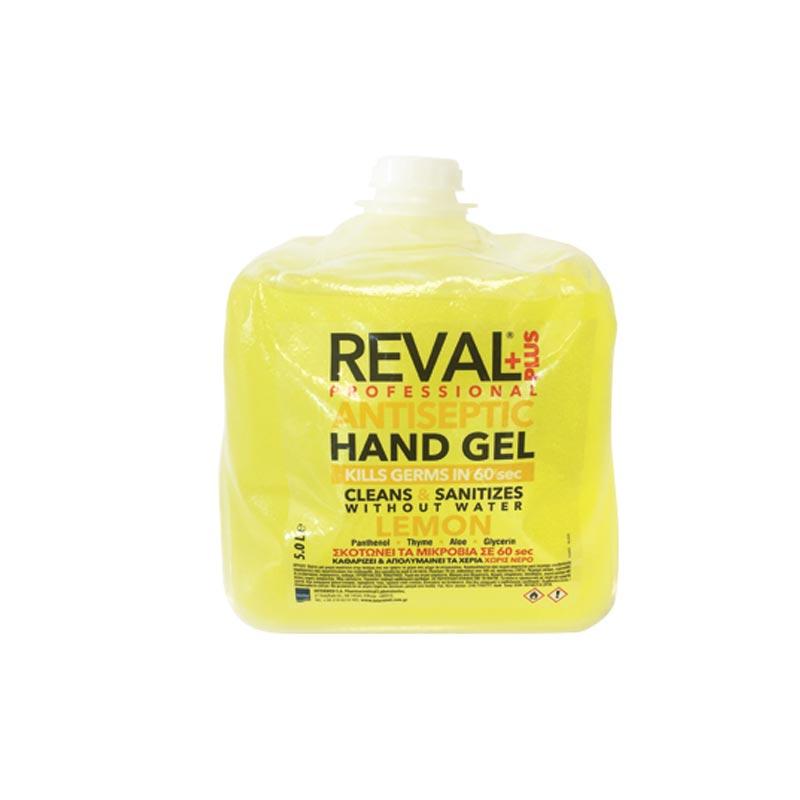 Reval Plus Hand Gel 5lt Hand Gel Αντισηπτικό