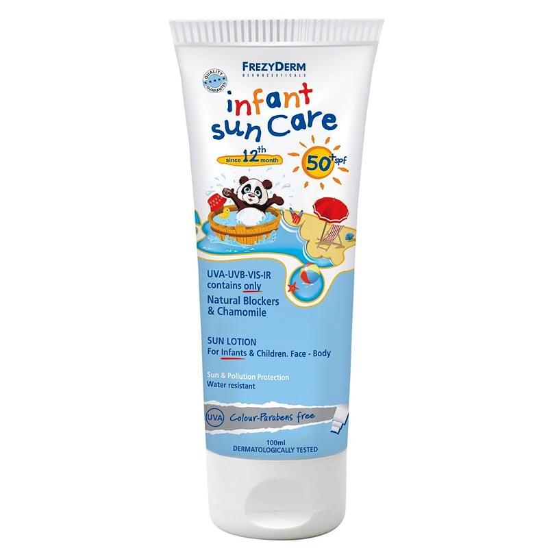 Frezyderm Infant Sun Care SPF 50+ Βρεφική και παιδική ηλιοπροστασία 100ml