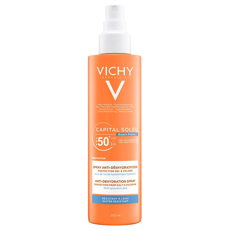 Vichy Capital Soleil Beach Protect Anti-dehydration Spray SPF50 200ml