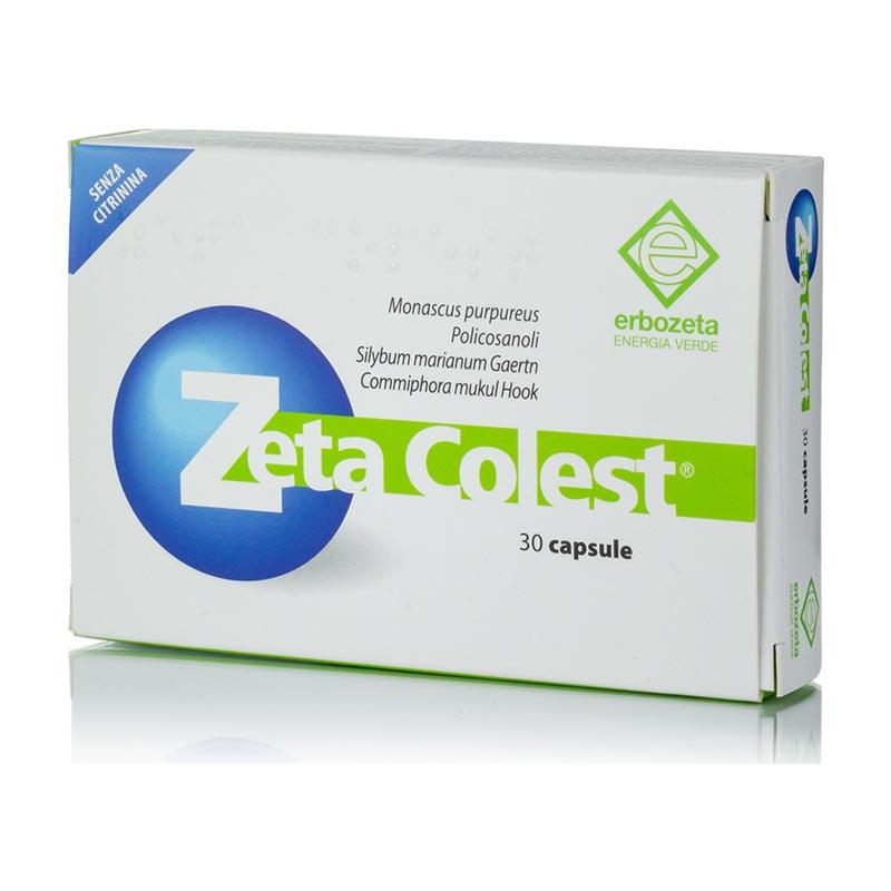 Erbozeta - Zeta colest Συμπλήρωμα διατροφής για έλεγχο της χοληστερόλης και των τριγλυκεριδίων - 30caps