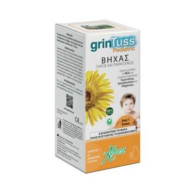 Aboca Grintuss Pediatric Σιρόπι για Παιδιά για Ξηρό & Παραγωγικό Βήχα 210gr