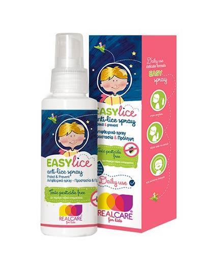 REAL CARE EasyliceΠροληπτικό Αντιφθειρικό spray 100ml