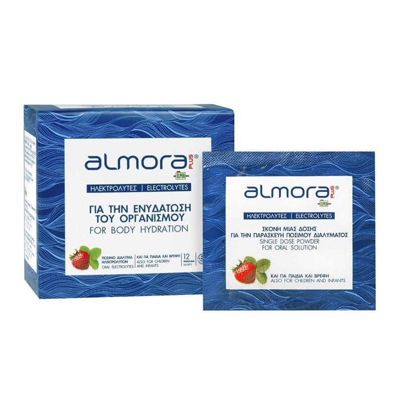 Almora Plus Electrolytes, 12 φακελάκια