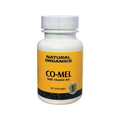 Natures Plus Co-Mel 3mg (w/b6) 60 παστίλιες
