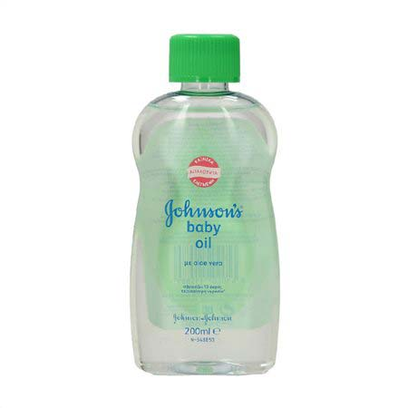 Johnsons Baby Oil Aloe Vera 200ml