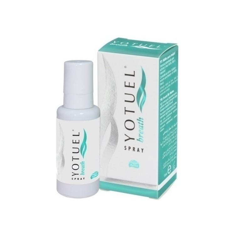 Yotuel Breath Spray Εκνέφωμα 15ml. Βοηθά στην αντιμετώπιση της δυσάρεστης αναπνοής από τον πρώτα κίολας ψεκασμό