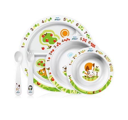 Philips Avent Σετ Φαγητού για Νήπια 6Μ+ (SCF716/00)