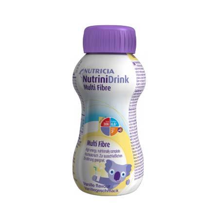 Nutricia Nutrinidrink Multi Fibre με Γεύση Βανίλια 200ml