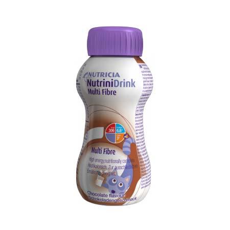 Nutricia Nutrinidrink Multi Fibre με Γεύση Σοκολάτα 200ml