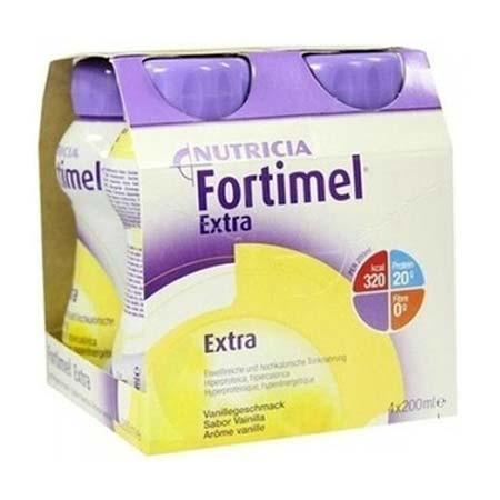 Nutricia Fortimel Extra 4 x 200ml Βανίλια