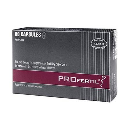 PROfertil Men 60caps - Αγωγή υπογονιμότητας για Άνδρες