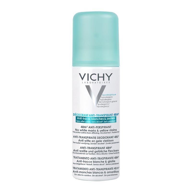 Vichy Deodorant 48ωρη Αποσμητική Φροντίδα για Έντονη Εφίδρωση - 125ml