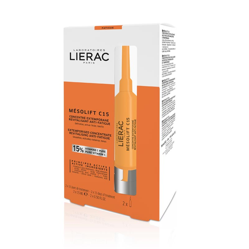 Lierac Mesolift C15 Συμπύκνωμα Κατά της Κούρασης 2x15ml