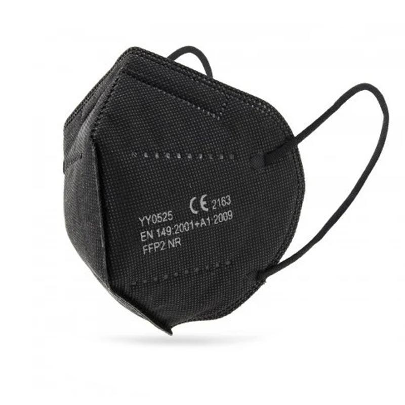 Μάσκα Ατομικής Προστασίας Μαύρη FFP2 (CE) - 1 τμχ