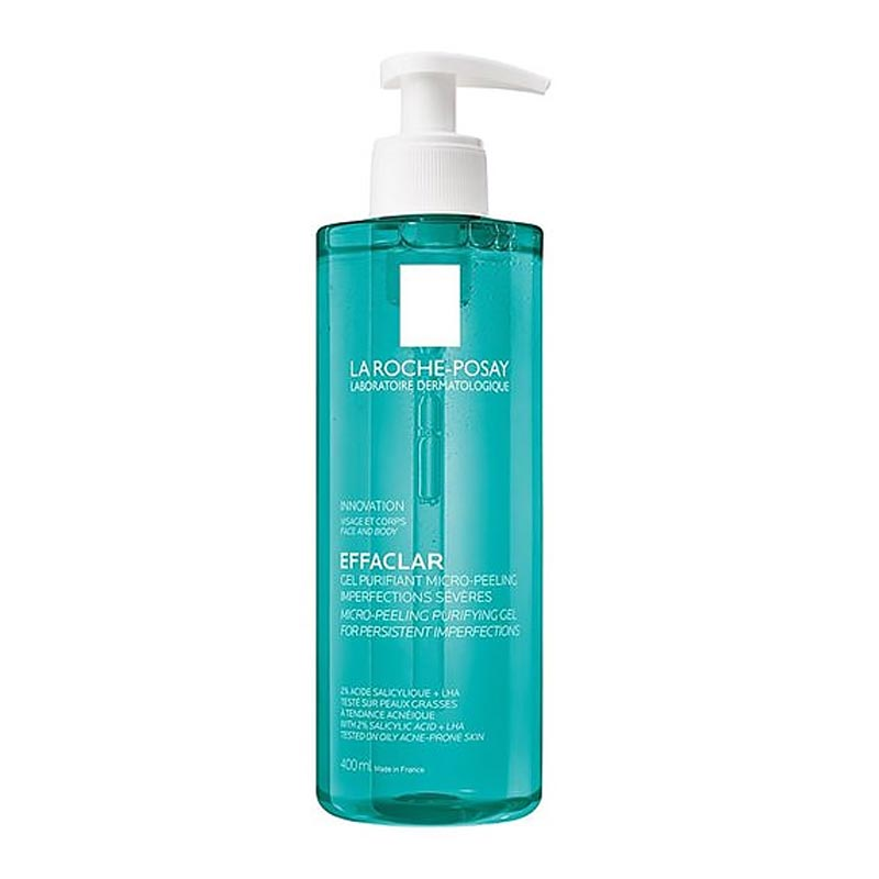 La Roche Posay Effaclar Micro-Peeling Purifying Gel Wash για λιπαρή επιδερμίδα 400ml
