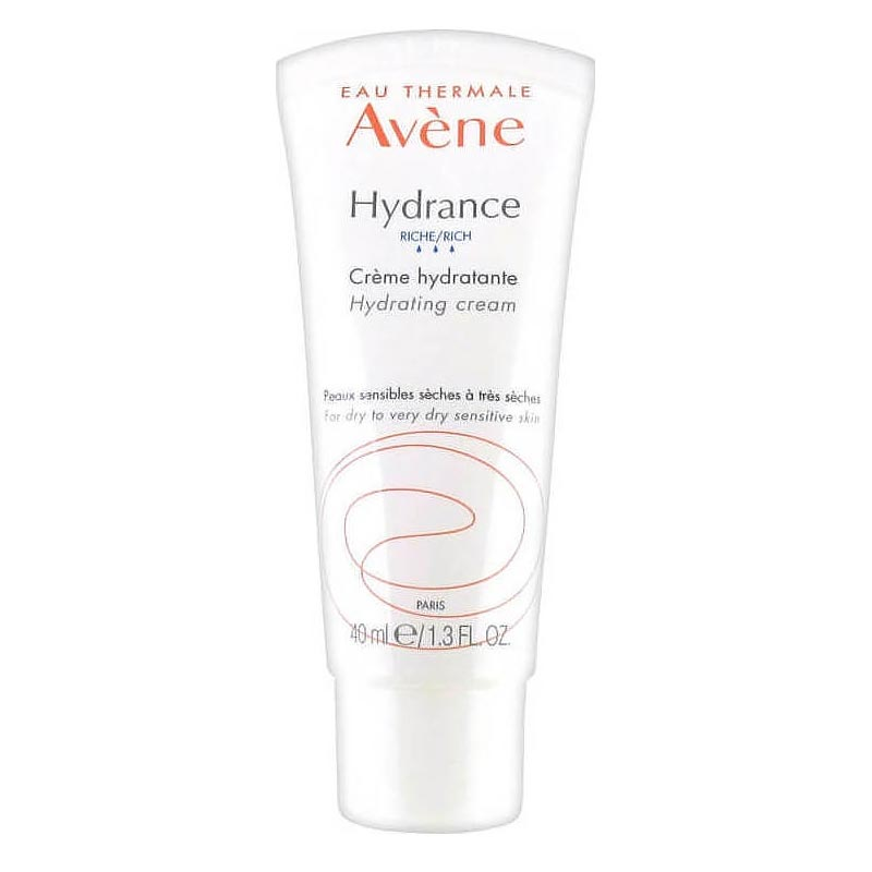Avene Hydrance Riche Creme Hydratante 40ml - Ενυδατική Κρέμα Για Ξηρό & Πολύ Ξηρό Ευαίσθητο Δέρμα