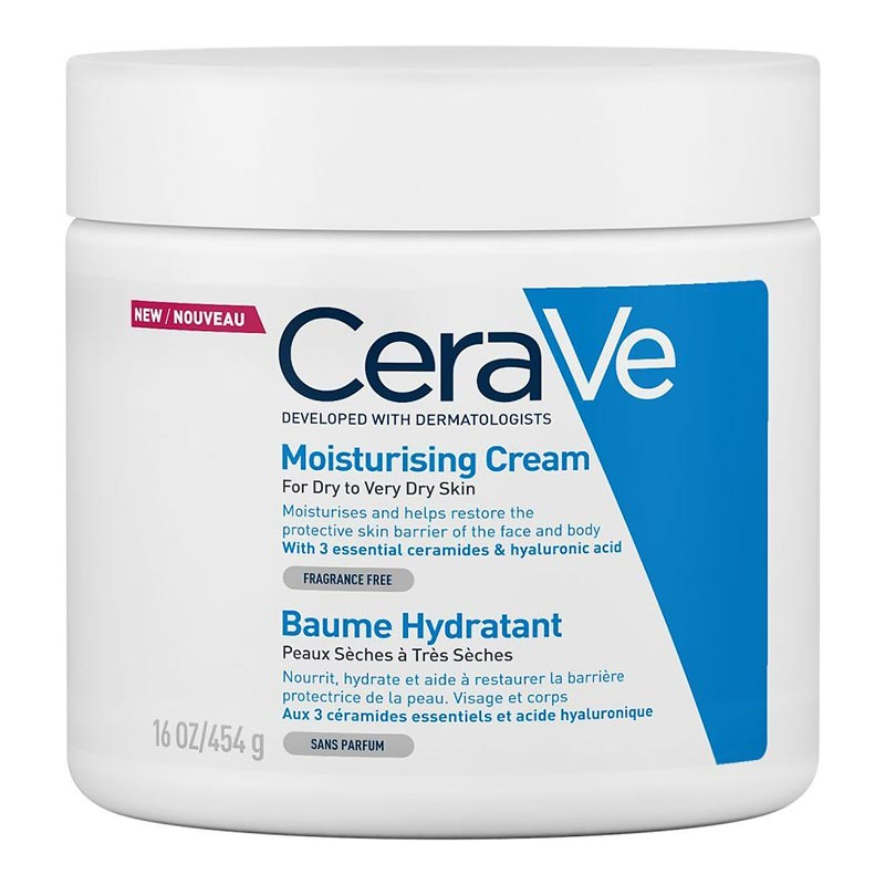 CeraVe Moisturizing Face & Body Cream 454g