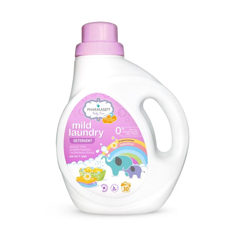 Pharmasept Baby Care Mild Laundry Detergent - Απαλό Υγρό Απορρυπαντικό Για Βρεφικά, 1lt