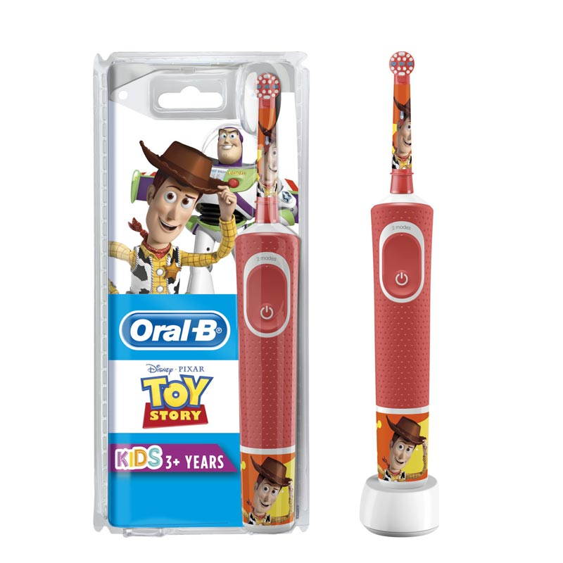 OralB Vitality Kids Stages Toy Story Ηλεκτρική Οδοντόβουρτσα 3 YEARS+ RIBON