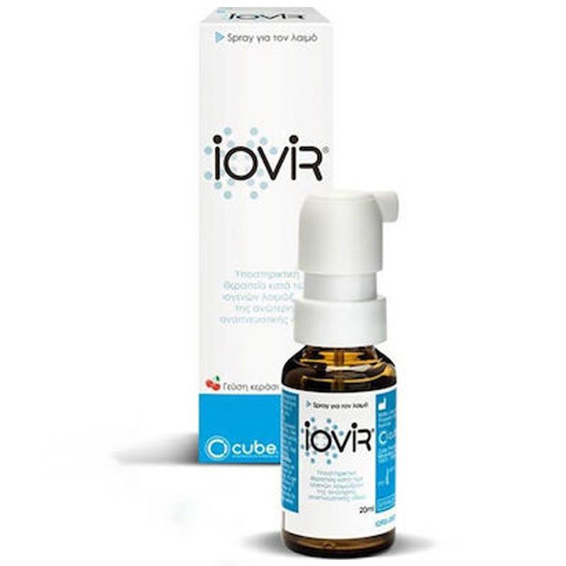 Cube Iovir Throat Spray Σπρέι για το Λαιμό κατά των Ιών 20ml