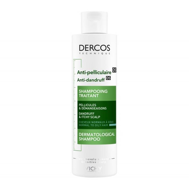 Vichy Dercos Αντιπυτιριδικό σαμπουάν για Κανονικά/Λιπαρά μαλλιά 200ml