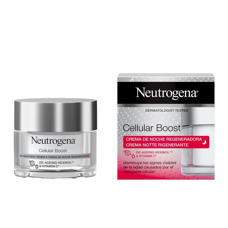Neutrogena Cellular Boost Night Renew SPF 20 Αντιγηραντική Κρέμα Νυκτός 50ml