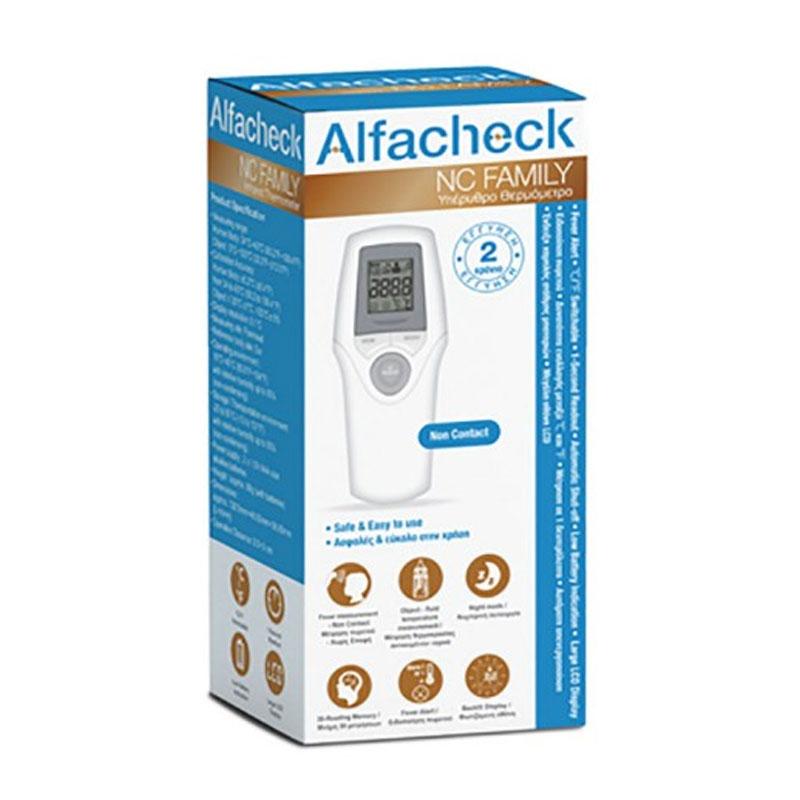 Alfacheck NC Family Υπέρυθρο Ψηφιακό Θερμόμετρο Μετώπου Χωρίς Επαφή
