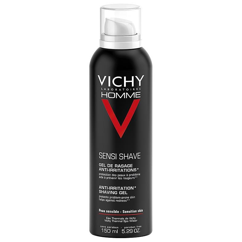 Vichy Homme Anti- Irritation Gel Ξυρίσματος, 150ml