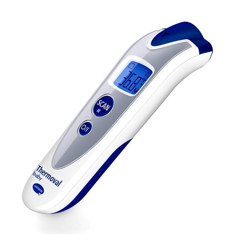 Hartmann Thermoval Baby Ηλεκτρονικό Ανέπαφο Θερμόμετρο Μετώπου 1 Τεμάχιο