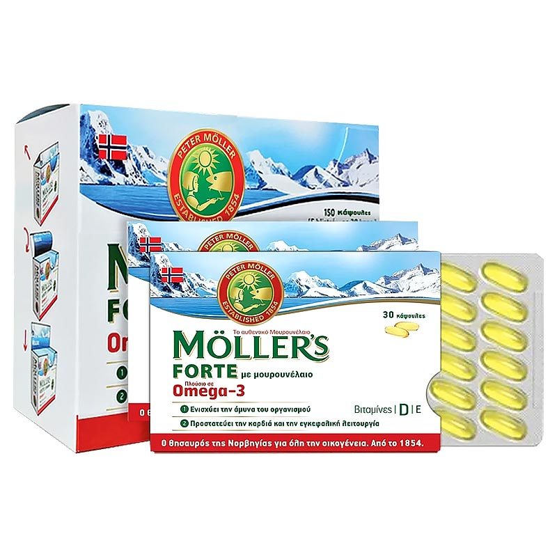 Mollers Forte Omega-3 150caps