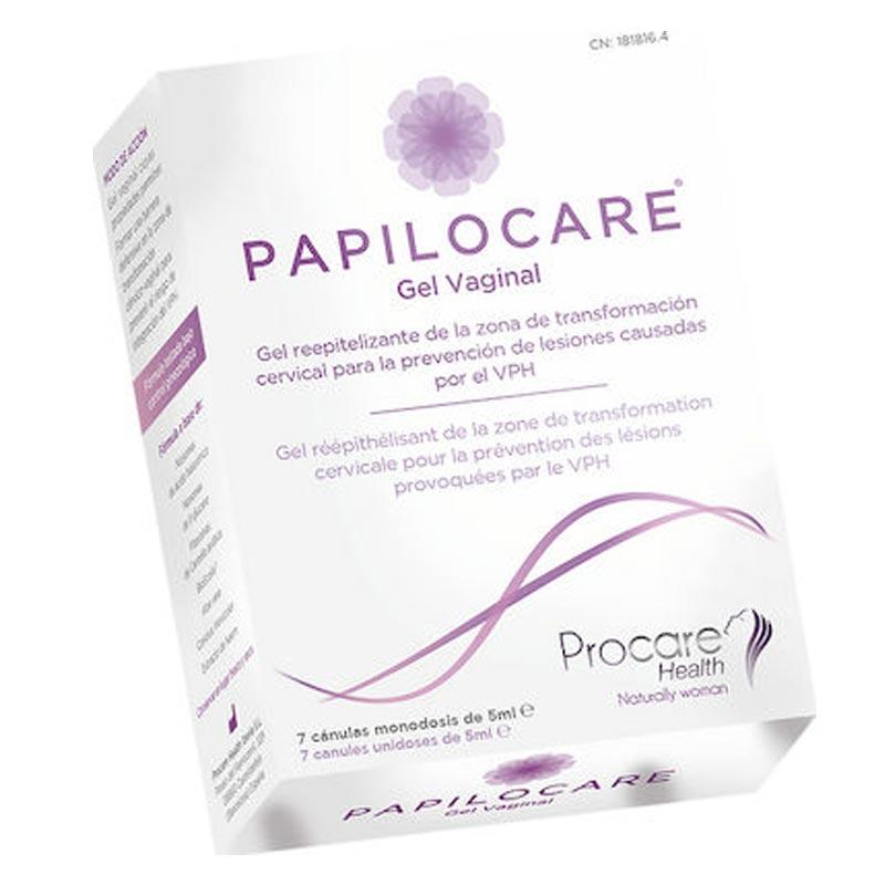 Procare Procare Papilocare Vaginal Gel Κολπική Γέλη, 7x5ml