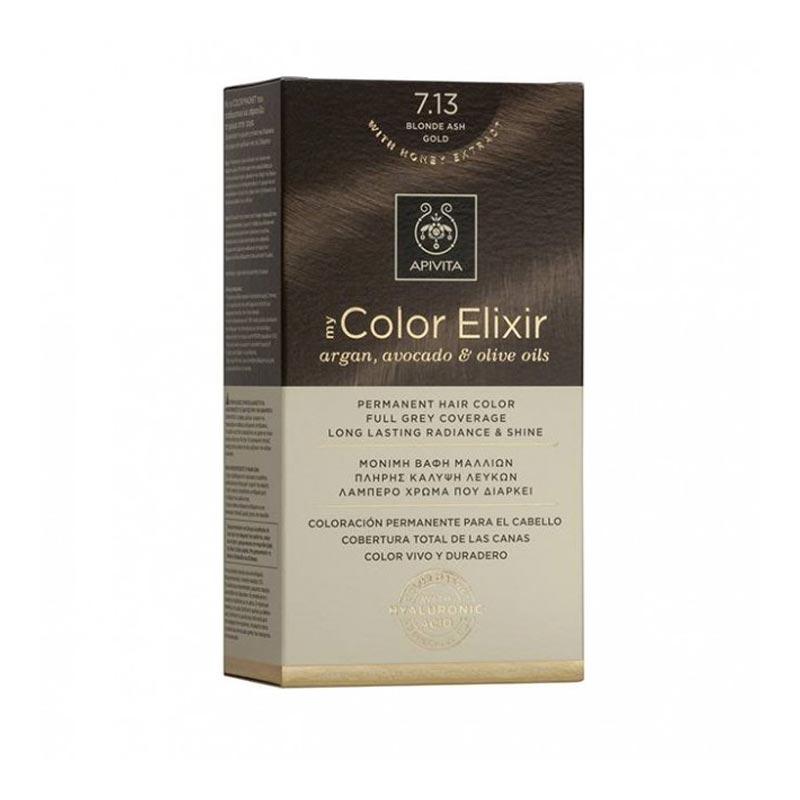 Apivita My Color Elixir Βαφή Μαλλιών 7.13 Ξανθό Σαντρέ Μελί