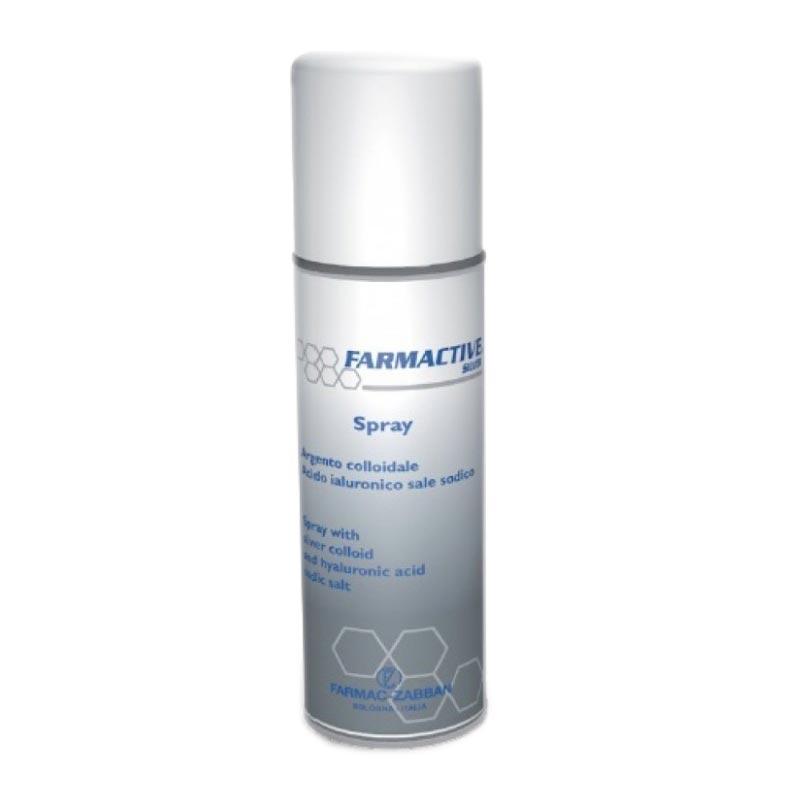 Farmactive Silver Spray Σπρέι για την Τοπική & την Προσωρινή Θεραπεία μη Μολυσμένων Αλλοιώσεων του Δέρματος 125ml