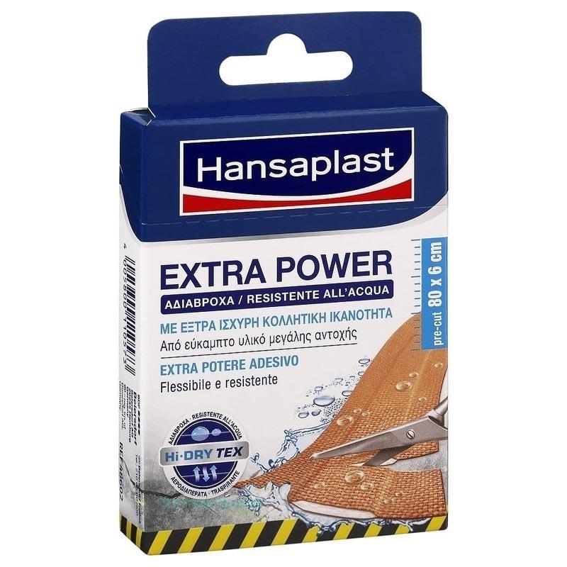 Hansaplast Ανθεκτικά στο νερό με extra κολλητική ικανότητα, 8τεμ.