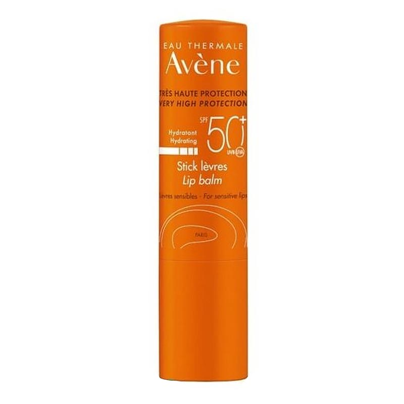 Avene High Protection Hydrating Lip Balm SPF50+ 3gr