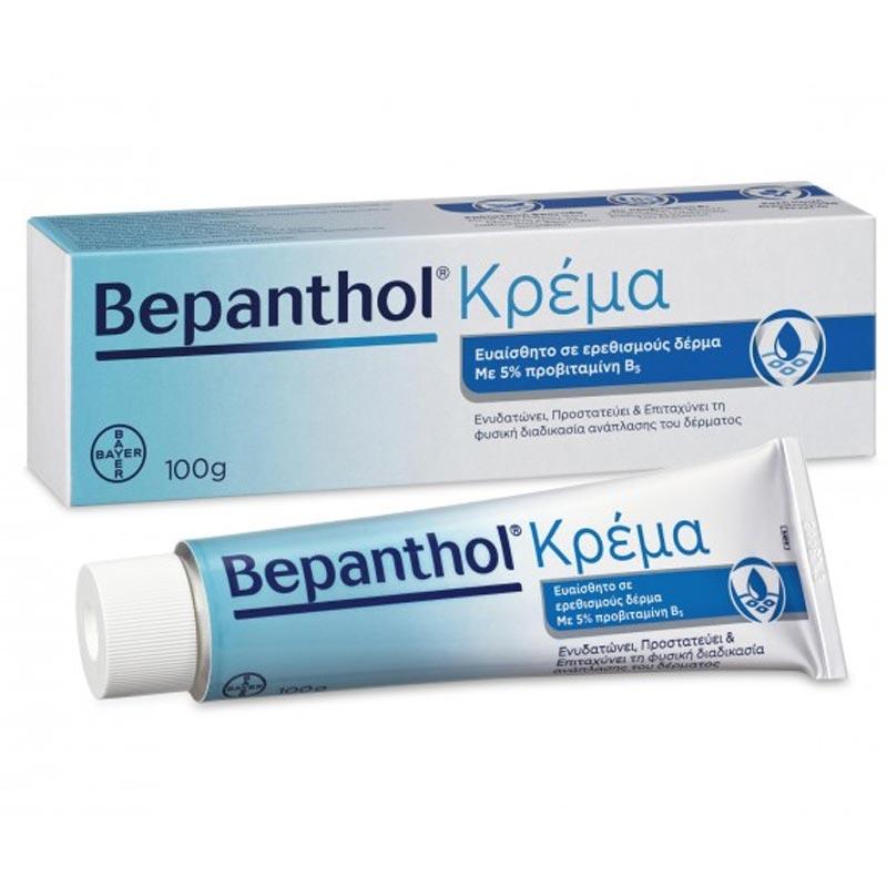 Bepanthol Κρέμα για Ερεθισμένο & Ευαίσθητο Δέρμα 100g