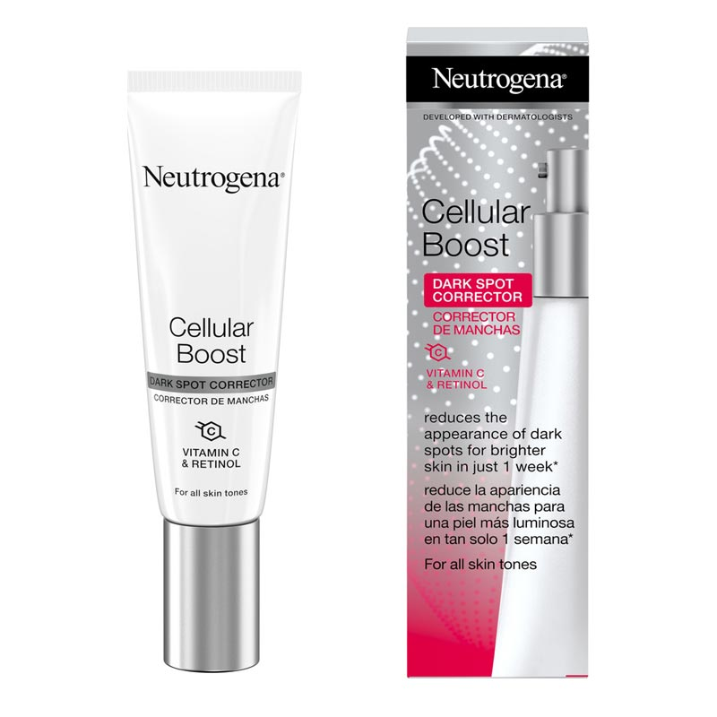 Neutrogena Cellular Boost Dark Spot Corrector Κρέμα Μείωσης Σκούρων Κηλίδων 30ml