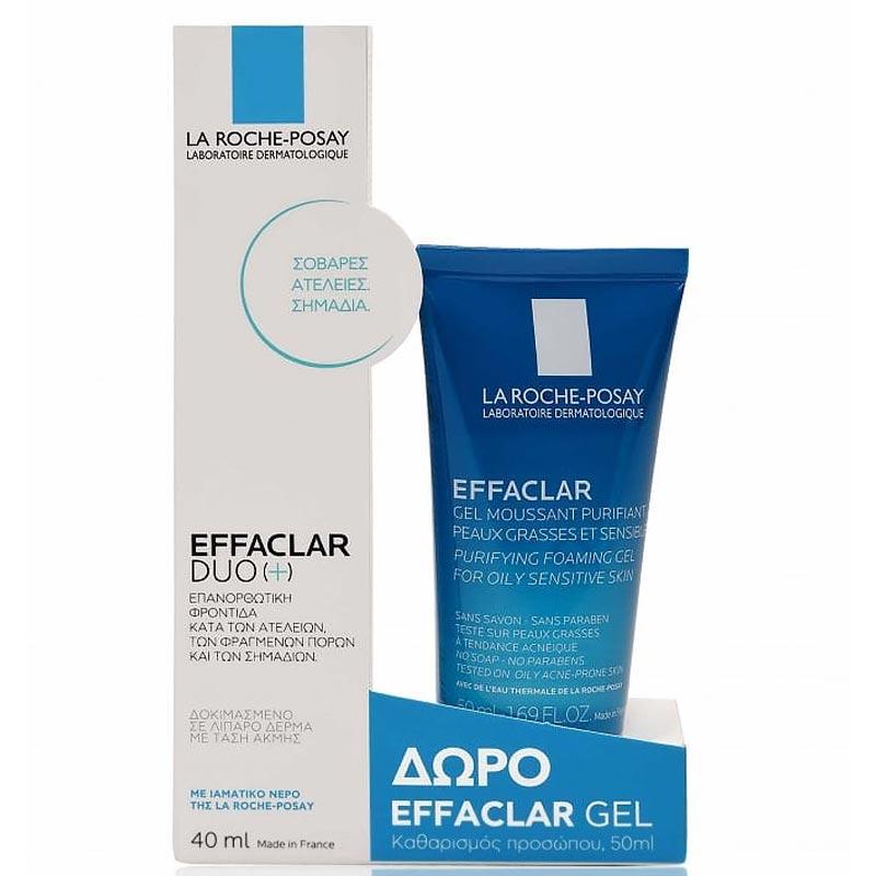 La Roche Posay Effaclar Duo [+], 40ml + ΔΩΡΟ Effaclar Gel Καθαρισμού 50ml