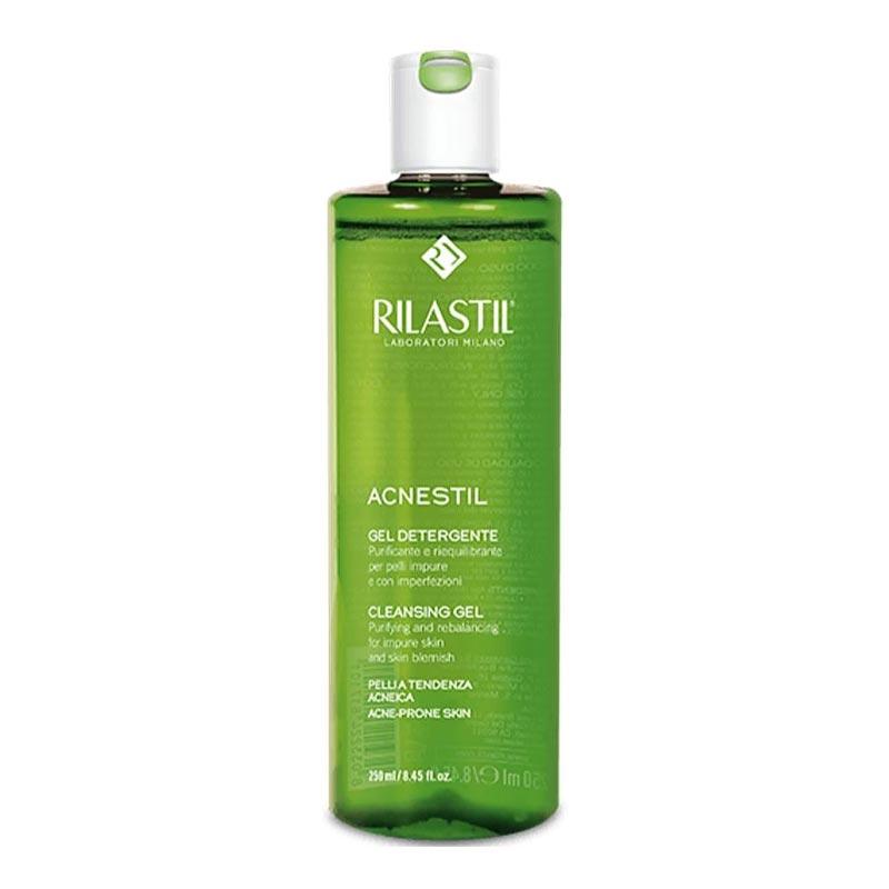 Rilastil Acnestil Cleansing Gel Καθαριστικό Τζελ Για Μικτή - Λιπαρή Με Τάση Ακμής Επιδερμίδα 250ml