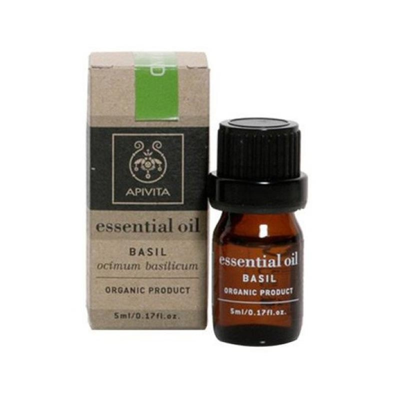 Apivita Essential Oil Βασιλικός 5ml