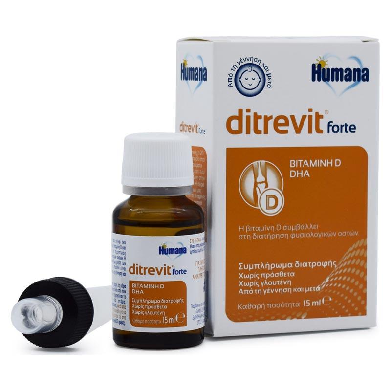 Humana ditrevit forte 15ml