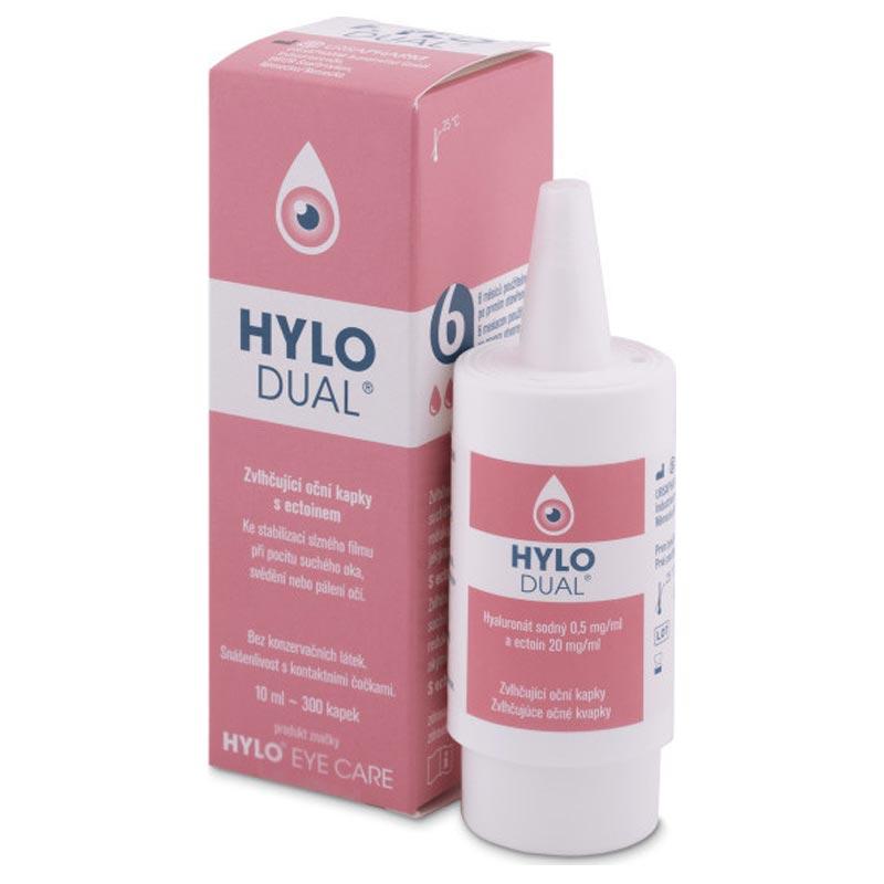 Hylo Dual Λιπαντικές Οφθαλμικές Σταγόνες 10ml