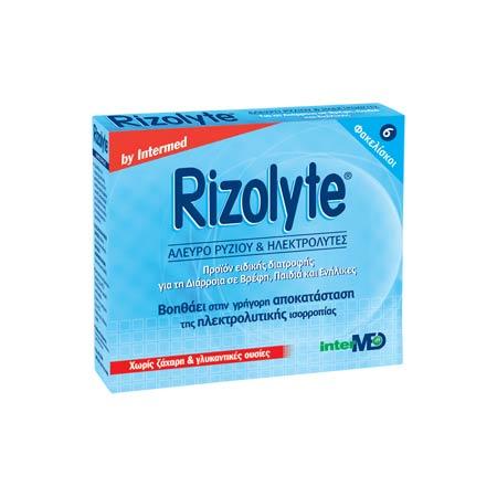Intermed Rizolyte ηλεκτρολύτες 6 φακελίσκοι